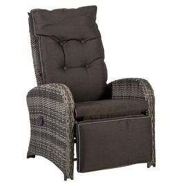 Home4you Colombo Garden Chair Grey