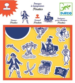 Djeco Pirates Stamps DJ08917