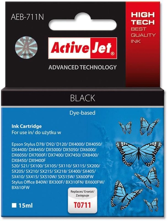 ActiveJet AEB-711 Cartridge 15ml Black
