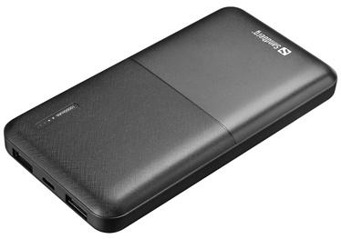 Зарядное устройство - аккумулятор Sandberg Saver, 10000 мАч, черный
