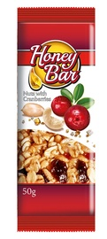 BATONĖLIS HONEY BAR NUTS CRANB 50G SPANG