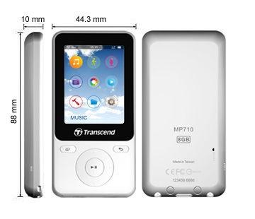Transcend MP710 8GB White