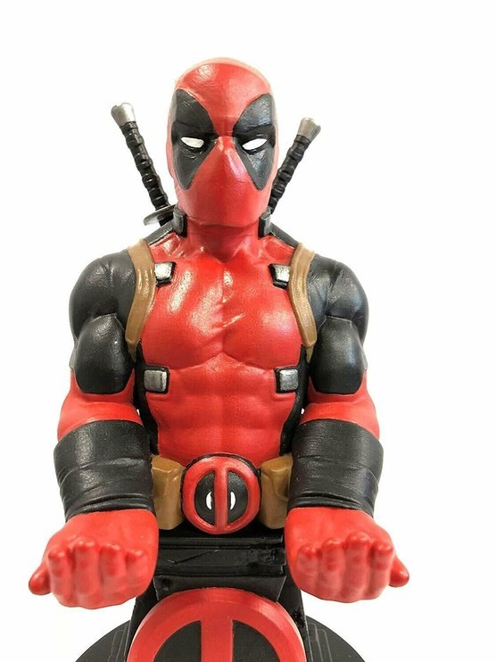 Аксессуар Exquisite Gaming Cable Guys: Marvel Deadpool Phone And Controller Holder Incl. Type-C Cable