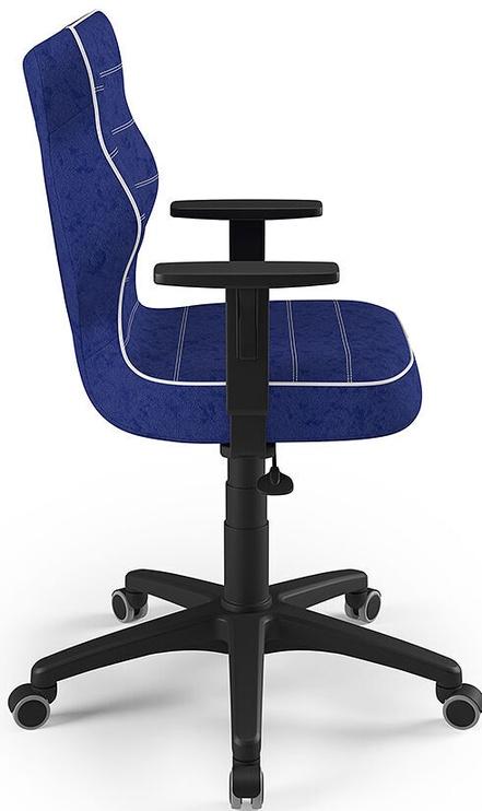 Детский стул Entelo Duo Size 5 VS06, синий/черный, 375 мм x 1000 мм