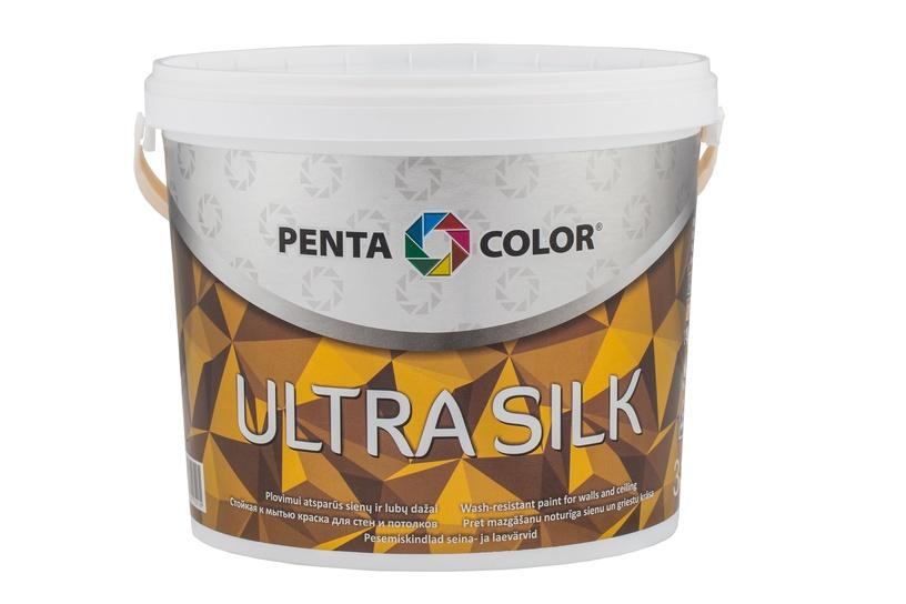 Krāsa ultra silk balta 3l (Pentacolor)