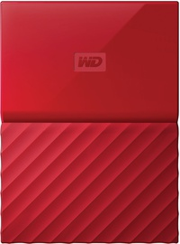 Western Digital 2TB My Passport USB 3.0 Red WDBYFT0020BRD-WESN