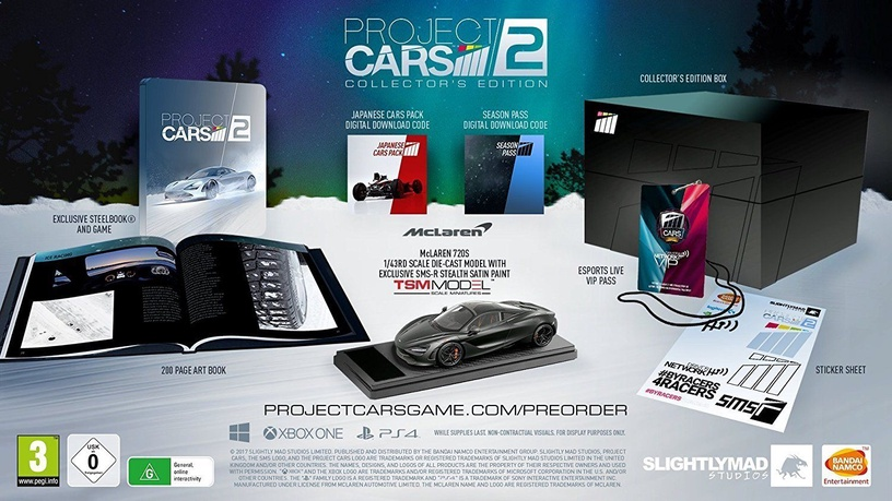 Project Cars 2 Collector's Edition PS4