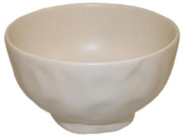 Bradley Ceramic Bowl Organic 15cm White