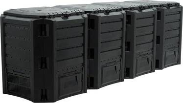 Prosperplast Composter Module 4-Sections 1600L Black IKSM1600C