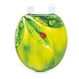 Tualetes poda vāks Thema Lux S606, zaļš ar mīkstu pārklājumu