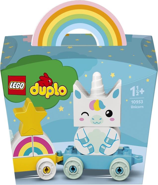 Конструктор LEGO Duplo Мой первый единорог 10953, 8 шт.