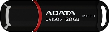 USB atmintinė ADATA UV150 Black, USB 3.0, 128 GB