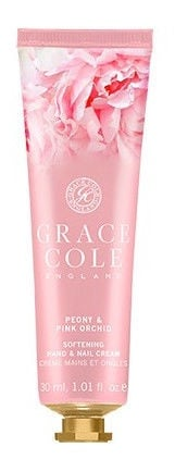 Rankų kremas Grace Cole Hand & Nail Peony & Pink Orchid, 30 ml