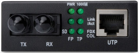 Digitus Converter RJ45 to ST Multi-Mode Converter
