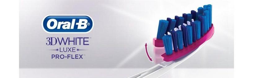 Oral-B ProFlex Luxe 3D White 38 Medium Toothbrush