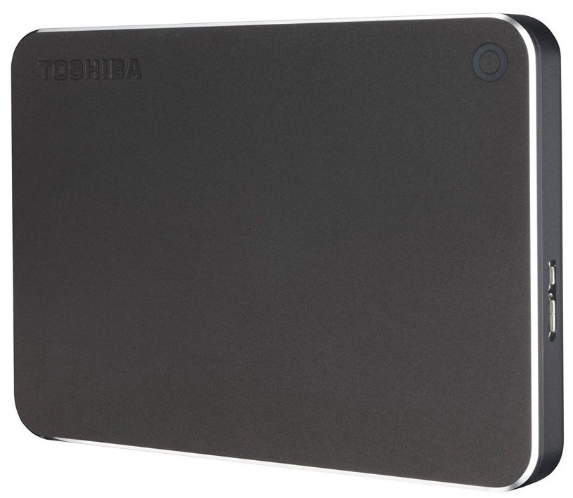 "Toshiba Canvio Premium 2.5"" 1TB USB 3.0 Dark Grey"