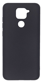 Evelatus Soft Touch Back Case For Xiaomi Redmi Note 9 Black