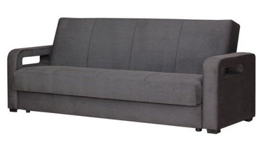 Bodzio Karmona Sofa Velour Dark Gray