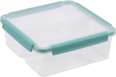 Plast Team Copenhagen Food Storage Box 22x22x8.5cm 2.38l Green