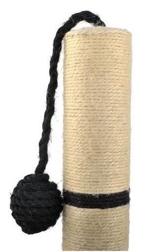 Skrāpis kaķiem Mport Black, 45 cm