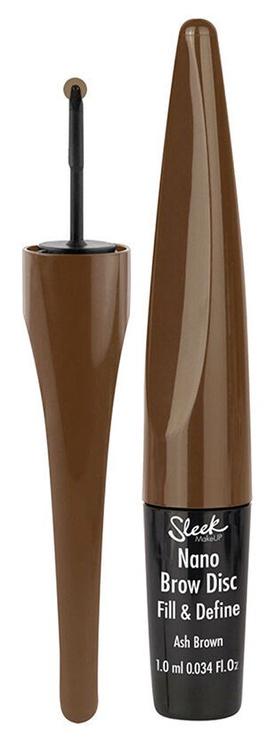 Карандаш для век Sleek MakeUP Nano Brow Disc Fill & Define Ash Brown BD