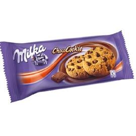 Sausainiai Milka su šokolado gabalėliais, 135 g