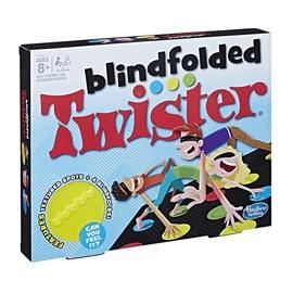 Žaidimas Twister blindfolded