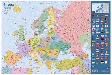 Jāņa Sēta Desk Pad Political Map Europe