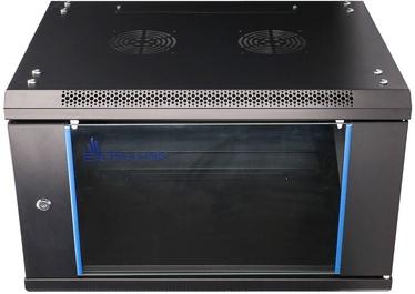 Extralink 6U 600x450 Wall-Mounted Rackmount Cabinet Black