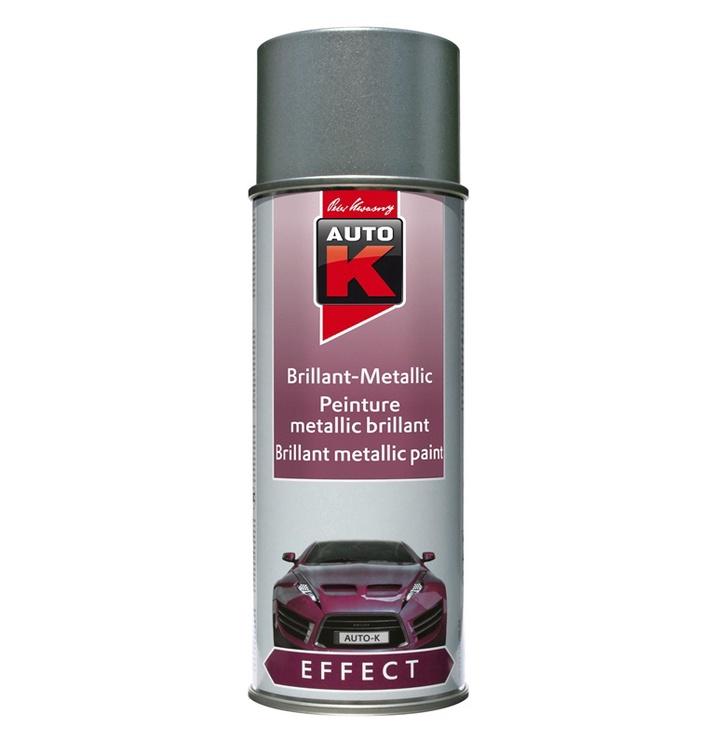 Auto K Effect Brilliant Metallic Silverstone Silver 400ml