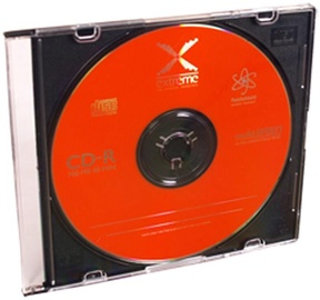 Esperanza 2039 CD-R Extreme 52X 700MB 200 Slim Jewel Case