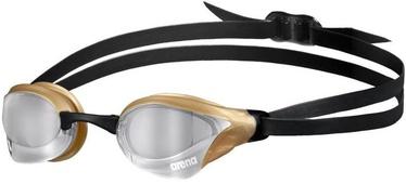 Arena Cobra Core Swipe Goggles Silver/Gold