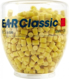 3M EAR Classic Earplugs Yellow 500pcs