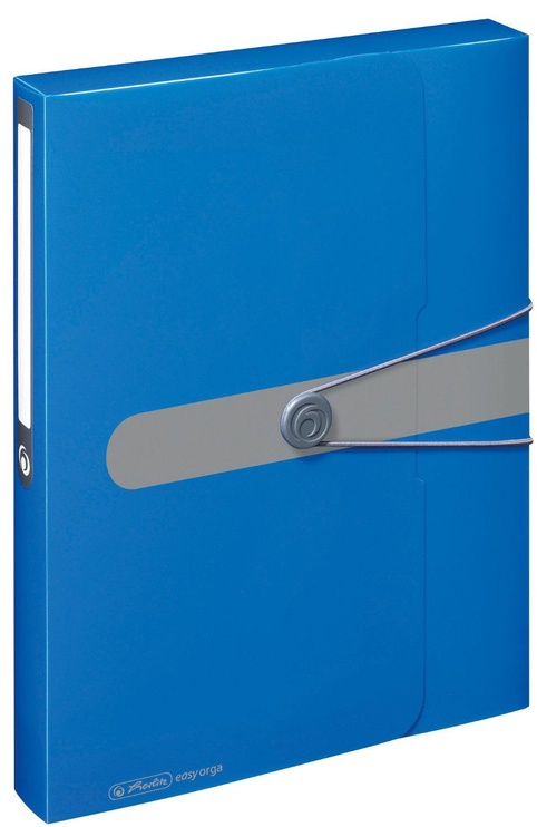 Herlitz Document Box Easy Orga A4 Opaque Blue 11206125