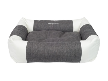 Кровать для животных Amiplay Classic, серый, 460x580 мм