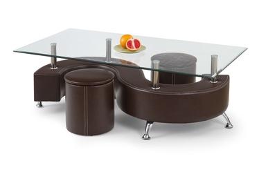 Kavos staliukas Nina, su 2 pufais