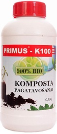 Priemonė kompostavimo gerinimui Primus Bio K-100, 0,5 kg