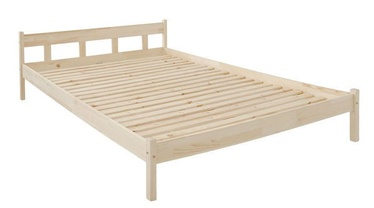 Black Red White Alice 160 Bed Pine