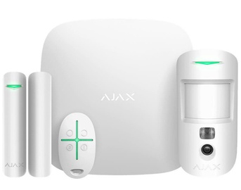 Ajax StarterKit Cam Security System White