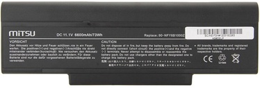 Mitsu Battery For Asus F2/F3/Z94/Z96 6600mAh