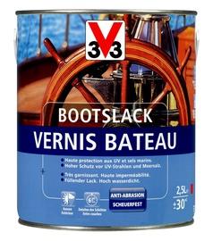 Lakas jachtoms V33, gintaro spalvos, 2.5 l