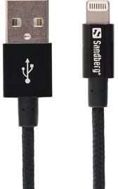 Sandberg Cable USB to Apple Lightning Black 1m