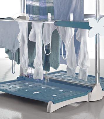Meliconi Stendimeglio Junior Internal Vertical Dryer Gray