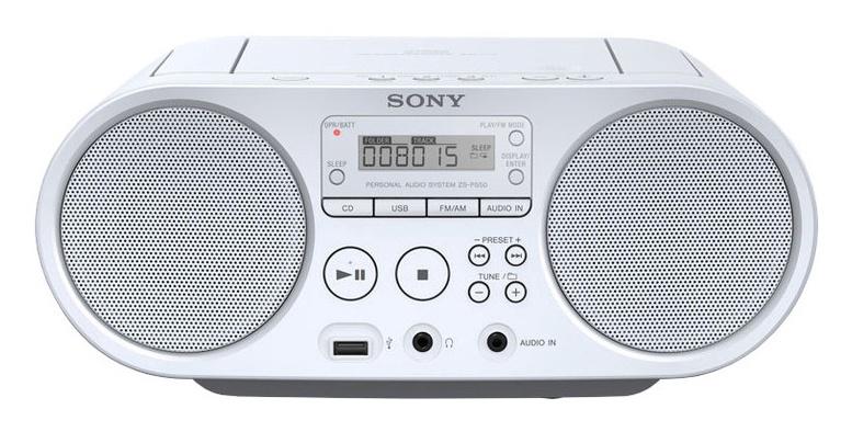 Magnetoola Sony ZSPS50W, 4 W, valge