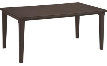 Dārza galds Keter Futura, brūna