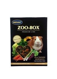 Pašaras jūrų kiaulytėms Megan Zoo-Box, 550 gr