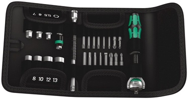 "Wera Zyklop Speed Bit/Wrench Set 1/4"" 26pcs"