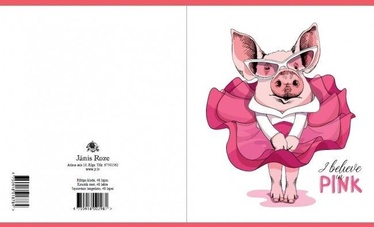 Jānis Roze Notebook JR9 48 Pages Piggy