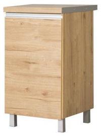 Нижний кухонный шкаф Bodzio Monia 40 Left Brown, 400x520x860 мм