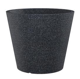 Вазон Scheurich Coneo Flower Pot Ø49cm Black-Granite